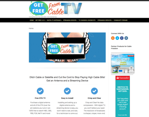Get Free From Cable - Cut the Cord!
