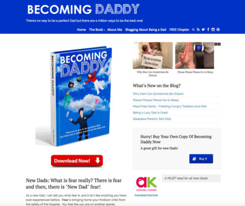 Becoming Daddy - Adventures of a New Dad