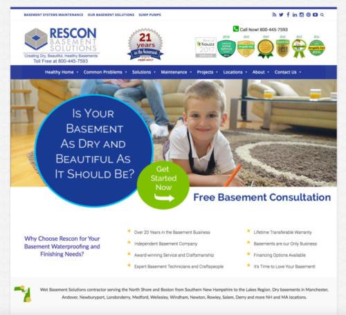Rescon Basement Solutions - Basement Company