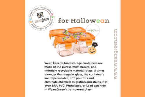Wean Green for Halloween
