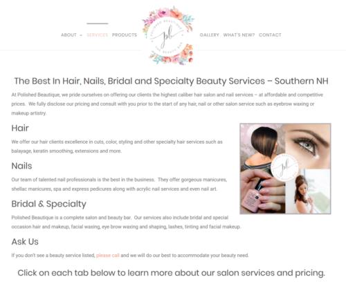 Polished-Beautique-Services