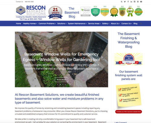 Rescon Basement Blog