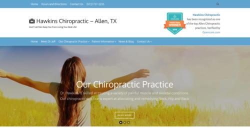 Hawkins Chiropractic, Allen, TX home